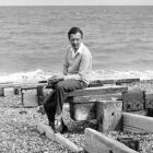 Britten on Aldeburgh beach in 1959 (Photo: Hans Wild courtesy of www.britten100.org)