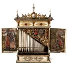 Positive organ, German, c.1627, Unsigned, attr. Gottfried Fritzsche