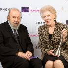 She was presented with her Award by the director Sir Peter Hall