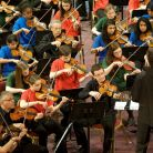 The work performed was an Olympic Symphony, created by the children under RPO wo