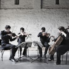 The Australian String Quartet have been loaned a set of Guadagnini instruments (