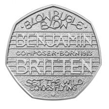 Royal Mint to release commemorative Britten coin