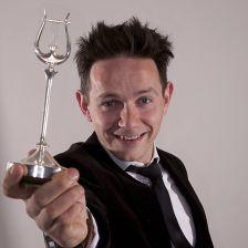 Counter tenor Iestyn Davies won the Young Artist award (photo: Simon Jay Price)