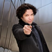 Dudamel: hear him conduct Nielsen (photo: Richard Reinsdorf)