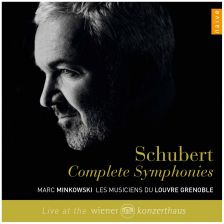 The Schubert symphonies from Marc Minkowski on Naïve