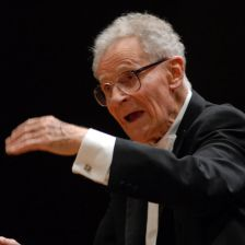 Stanisław Skrowaczewski appeared with the LPO at the Royal Festival Hall