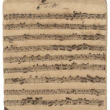 A Bach cantata manuscript has sold at Christie's for £337,250 (photo: Christie's