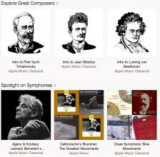 Apple Music's classical offering: it will be interesting to see how this develops over the coming months