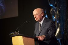 Bernard Haitink, deeply moved as he received his Lifetime Achievement Award