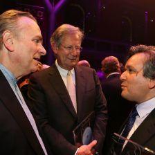 Three Sirs: Mark Elder, John Eliot Gardiner, Antonio Pappano at last year's Gramophone Awards