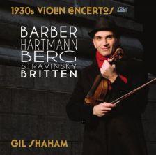 CC12. 1930s Violin Concertos Vol 1