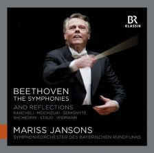 900119 . BEETHOVEN The Symphonies and Reflections. Maris Jansons