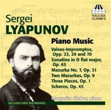 TOCC0218. LYAPUNOV Piano Works. Margarita Glebov