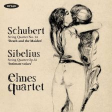 ONYX4163. SCHUBERT Death and the Maiden SIBELIUS Intimate Voices