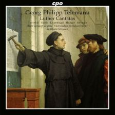 777 753-2. TELEMANN Luther Cantatas