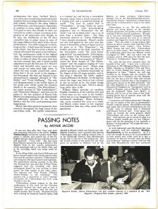 The original Gramophone article from February 1963
