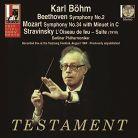 SBT1510. BEETHOVEN Symphony No 2 MOZART Symphony No 34