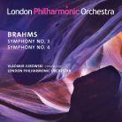 LPO0075. BRAHMS Symphonies Nos 3 & 4