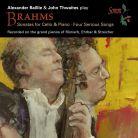 SOMMCD0158. BRAHMS Cello Sonatas Nos 1 & 2