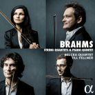 ALPHA248. BRAHMS 3 String Quartets. Piano Quintet