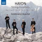8 573701. HAYDN String Quartets Opp 1, 33 & 77