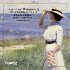 CPO777 084-2. HERZOGENBERG String Quartets