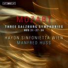 BIS2218. MOZART Three Salzburg Symphonies