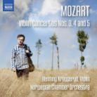 8 573513. MOZART Violin Concertos Nos 3 - 5