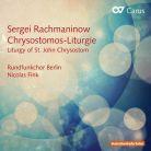 CARUS83 407. RACHMANINOV Liturgy of St John Chrysostom, Op. 31