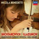 478 8758. SHOSTAKOVICH; GLAZUNOV Violin Concertos