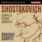 CHAN10917. SHOSTAKOVICH Complete String Quartets (Brodsky Quartet)