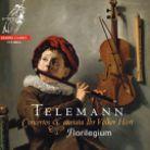 CCS38616. TELEMANN Concertos & Cantata Ihr Völker Hört