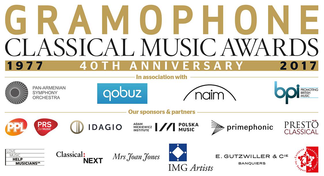 Gramophone Awards Sponsors