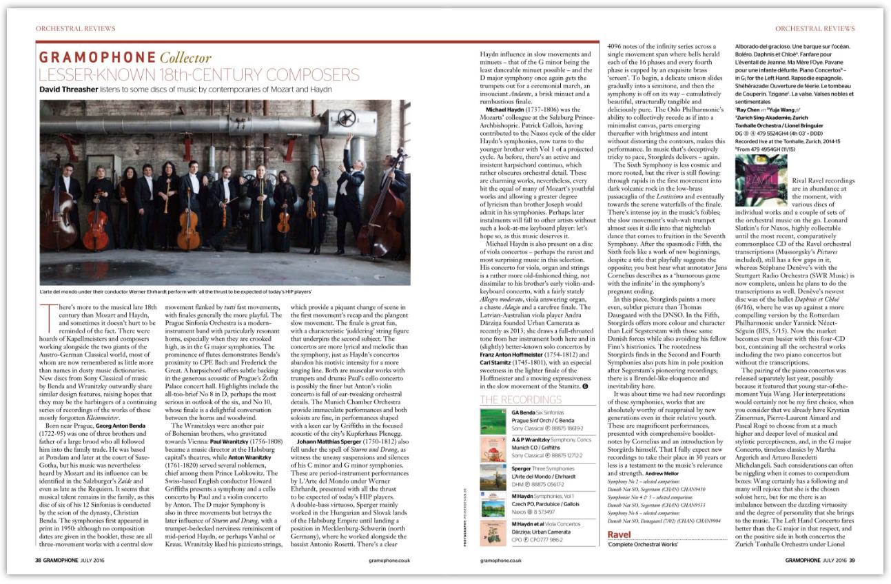 gramophone classical music guide 2016