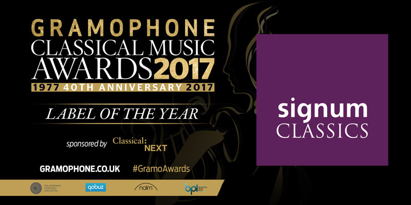 Gramophone Awards Label of the Year