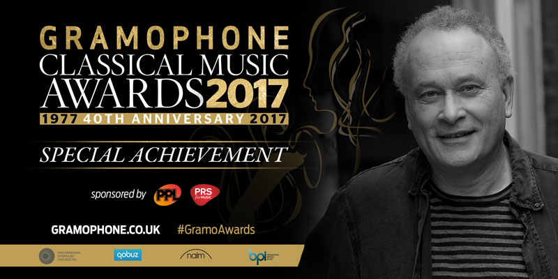 Gramophone Special Achievement Award