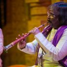 Flute master and fifth generation musician Pandit Rajendra Prasanna performs the