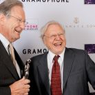Sir John Eliot Gardiner with Sir David Attenborough