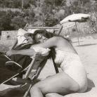 Maria Callas on holiday in Salerno, 1956