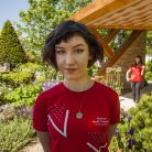 'I learned that it's possible to see gardens as a linear journey for the visitor,' said composer Lauren Marshall. 'It's actually very similar to the way that composers think about composition.' (Morgan Stanley/John Campbell)