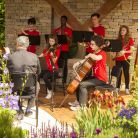 Lauren Marshall's musical response to the garden, 'Linger in Light', was performed at the Chelsea Flower Show this week (Morgan Stanley/John Campbell)