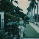 Maria Callas on holiday in Palm Beach, 1974