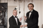 James Jolly presents Vasily Petrenko with his Artist of the Year Award