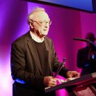 Pianist Alfred Brendel receives the Lifetime Achievement Award - and a standing