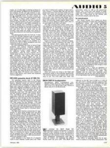 Review: B&W DM-14 speakers