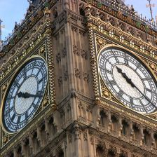 Big Ben was part of a mass bell-ringing event (Parliamentary copyright images ar