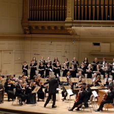 Harry Christophers and the Handel & Haydn Society (photo: Stu Rosner 2007)