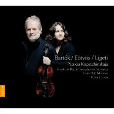 A Gramophone Choice set of three fine Hungarian violin concertos