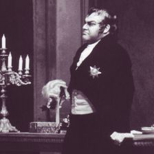 Ingvar Wixell as Scarpia at the Deutsche Oper Berlin