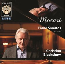 The first release in Chrisitan Blackshaw's Mozart series for Wigmore Hall Live